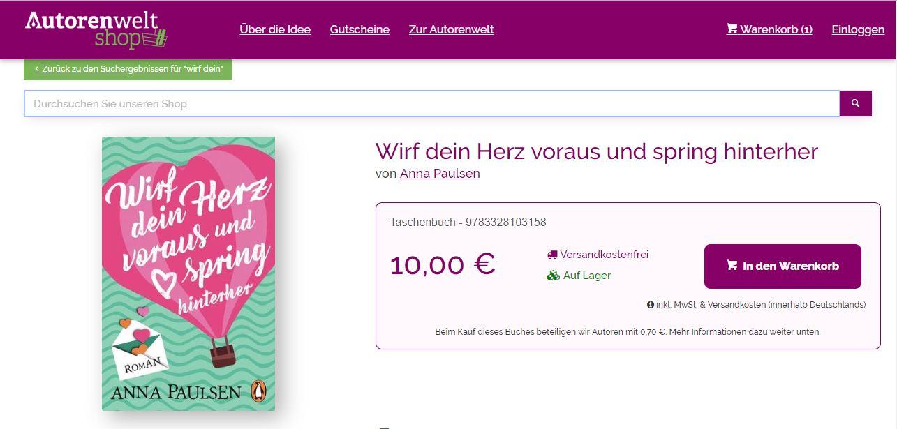 633a4b8c1350d1 Der Autorenwelt-Shop ist zunächst ein ganz normaler Online-Buchshop: Die  Auswahl ist groß, die üblichen Bezahlungsarten stehen zur Verfügung, ...